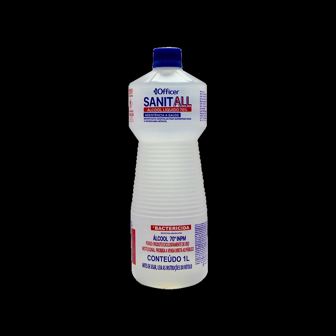 Álcool Liquido 70% Sanit All 1L