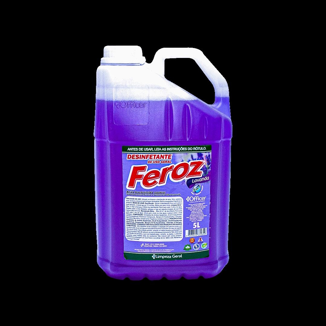 Desinfetante Feroz Lavanda 5L