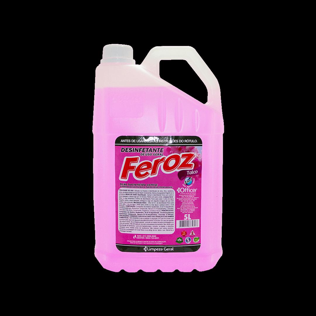 Desinfetante Feroz Talco 5L
