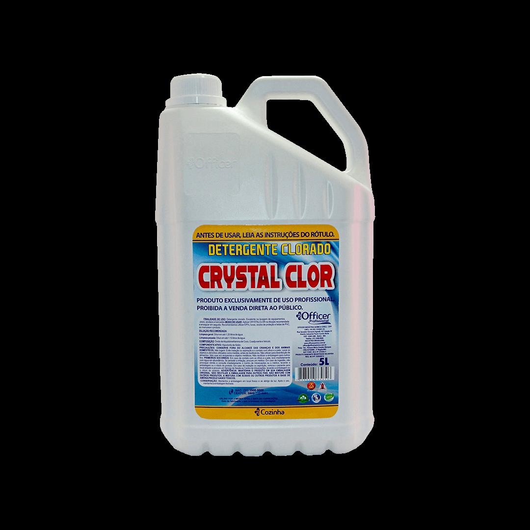 Detergente Clorado Crystal Clor