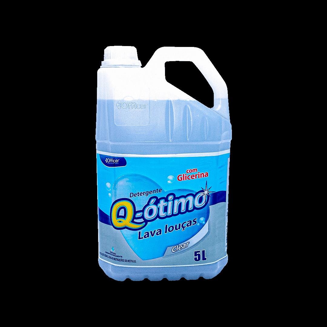 Detergente Lava Louca Q-Ótimo Clear 5L