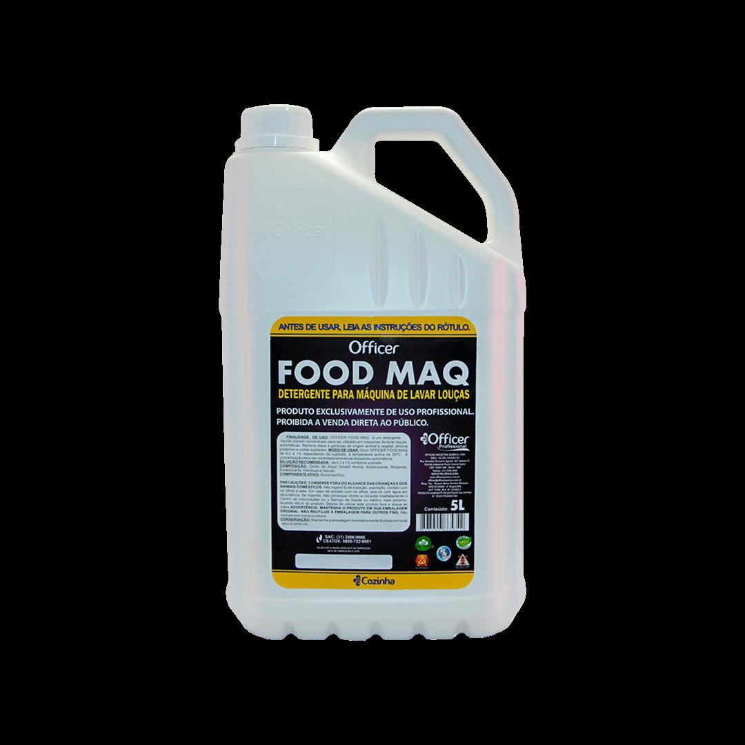 Detergente Officer Food Maq 5L