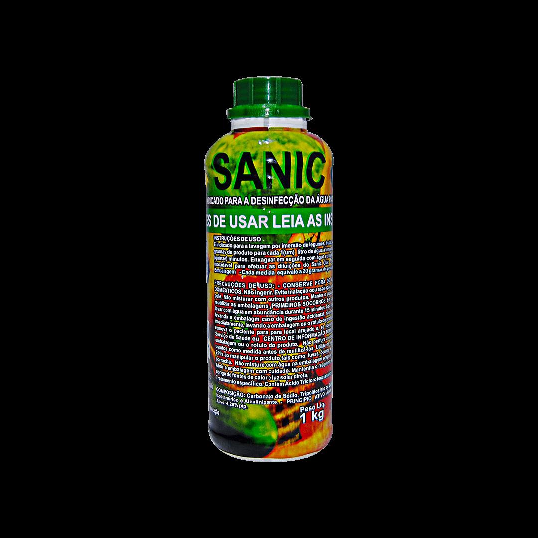 Sanitizante Para Verduras Sanic Clor 1kg